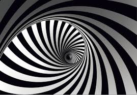 Black And White Mural Design Xxl Photo Wallpaper Mural Graphic Spiral Black White