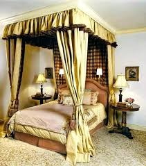Twin Canopy Curtains Image Of Design Bed Frame With Wonderful For ...