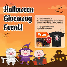 Halloween Gift Cards Halloween Giveaway 10 Winners Will Receive 20 Gift Card