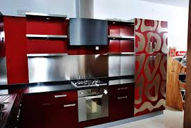Kitchen Red And White Elegan Small Kitchen Color Design Ideas Red White Picture Of Small