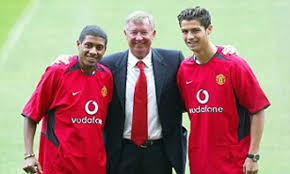 Manchester United signed Cristiano Ronaldo ten years ago to the day