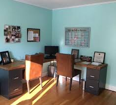 office makeover. Picture A Room That Is Bright Orange! What In God\u0027s Name Am I Supposed To Do With Orange Room? This Was Low On Our Priority List Paint Office Makeover