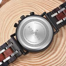 Relogio Masculino BOBO BIRD <b>Wooden Watch Men</b> Top Brand ...