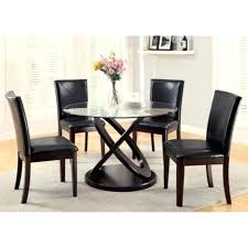 swinging round dining table set for 4 medium size of round glass top dining table 5