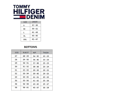 Tommy Hilfiger Shirt Size Guide Uk Rldm