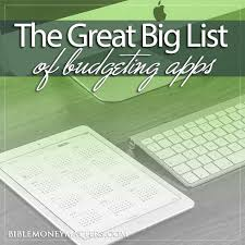 The Great Big List Of 75 Budgeting Tools Finance Software And Apps
