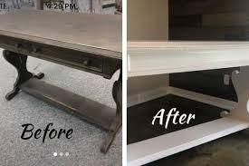 a diy vintage desk makeover using