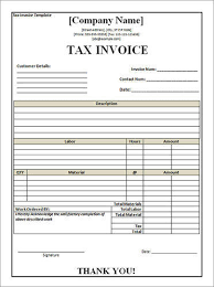 Tax Invoice Form | Gks Printers | Manufacturer In Nammalwarpet ...