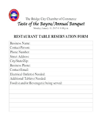 Table Reservation Template Images Of Restaurant Reservation Confirmation Template Sheet
