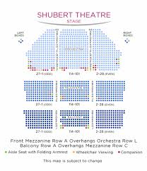 Oklahoma Broadway Seating Chart Shubert Theatre Shubert Organization