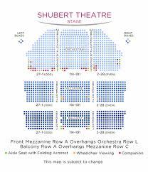 Shubert Theater New York City Seating Chart Shubert Theatre Shubert Organization