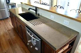 how to make cement counter tops concrete cement kitchen countertops san francisco