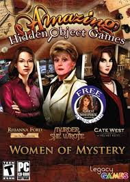 Most of these casual adventures are set in haunted mansions, abandoned countrysides, ghost towns, and twisted fantasy. Amazon Com Amazing Hidden Object Games Women Of Mystery Rhianna Ford The Da Vinci Letter Murder She Wrote Cate West The Velvet Keys Video Games