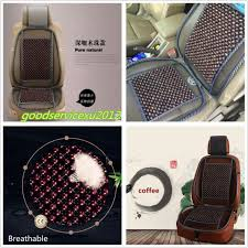 100 natural wooden beads car truck seat chair massage cushion breathable cover