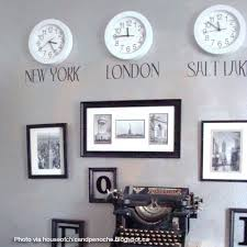 decorating with clocks time zone clocks time zones and clock