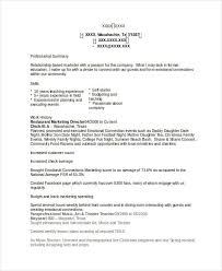 livecareer com 40 basic marketing resume free premium templates