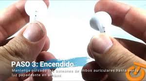 Manual emparejamiento auricular inalambrico TWS-i7 - YouTube
