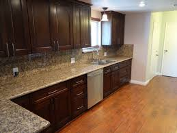 espresso kitchen cabinets with white granite finest rustic black charming cabinet grey best perfect grey kitchen walls