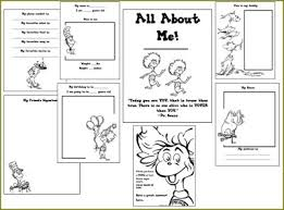 Small Picture FREE All About Me Printables