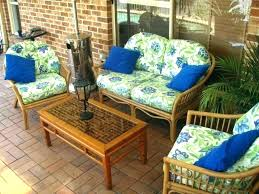 patio outdoor wicker patio furniture cushions for replacement image ideas wicke