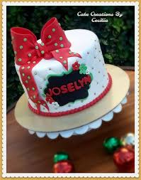 Christmas Birthday Cake Cake Creations By Ceciliacake Creations By