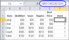 price comparison sheet excel find best price with excel index and match contextures blog
