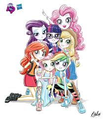 Equestria Girls Character Designs Equestria Girls Illustration Re Design 3 By Ritalux My
