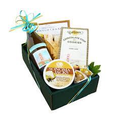 chardonnay clic wine and cheese gift box