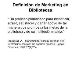 Resultado de imagen para marketing para bibliotecas