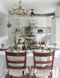 christmas table dressing ideas. Beautiful White Country Christmas Table Centerpieces Ideas (32) Dressing