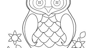 Free Printable Baby Owl Coloring Pages Free Printable Owl Valentine