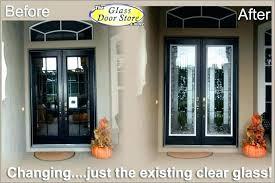 glass double front door. Double Front Doors With Glass Entry Door Top . A