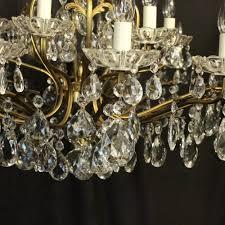 italian gilded 19 light antique chandelier antique lighting antique italian chandeliers