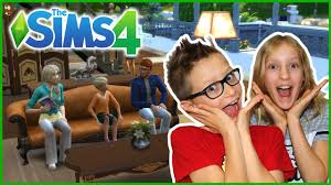 The SIMS Family is Here!!! with GamerGirl / KarinaOMG - YouTube