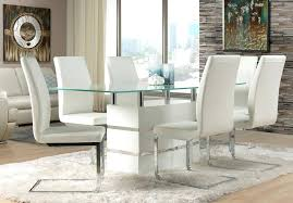 white leather dining set dining room white leather dining room chairs furniture table layout for white