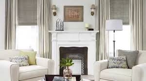 sofas with glass table near wooden white mantle shelf of fireplace dium sea green jcpenney