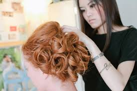 she is a freelance hair and makeup artist curly working in orange county california though she is able to travel to any destination