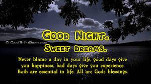Sweet Dream Quotes Good Night Best Of Good Night God Bless You Images Prayer Quotes Good Night Quotes