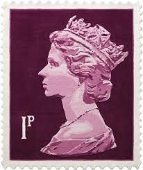 1p stamp rug stamp wall hanging