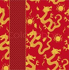 Dragon Pattern Adorable Seamless Pattern Of The Dragon Stock Vector Colourbox