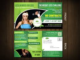 fitness postcard design for eco gym in united states design 5510399