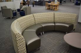 library seating furniture. curvycouchhalfcirclelibraryseating library seating furniture y