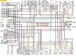 tr1 xv1000 xv920 wiring diagrams manfred's tr1 page all about 1984 yamaha virago 750 wiring diagram at 750 Yamaha Virago Wiring Diagram
