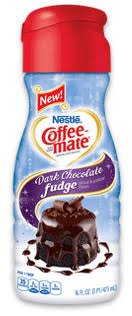 disclosure this giveaway is sponsored by coffee mate i have received one bottle of coffee mate dark chocolate fudge creamer as well as information to