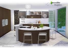 sims 4 kitchen design. hemisphere kitchen at simcredible designs 4 sims design 1