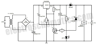 fast charger auto cut off fast charger auto cut off circuit schematic