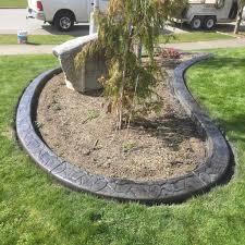 awesome diy concrete landscape edging