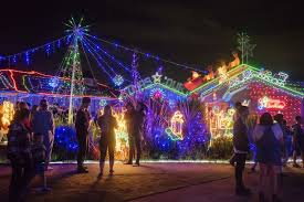 best places to see christmas lights in