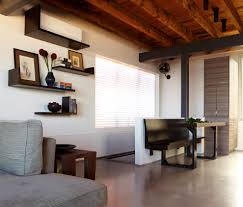 Oak Cabinets Living Room Living Room Living Room Floating Shelves With Black Solid Wood