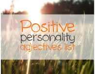 Positive personality Adjectives List justenglish.me ...